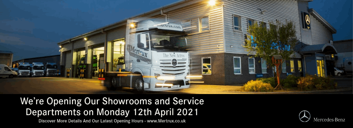 Service and Showrooms Reopening On 12th April 2021 at Mertrux Mercedes-Benz