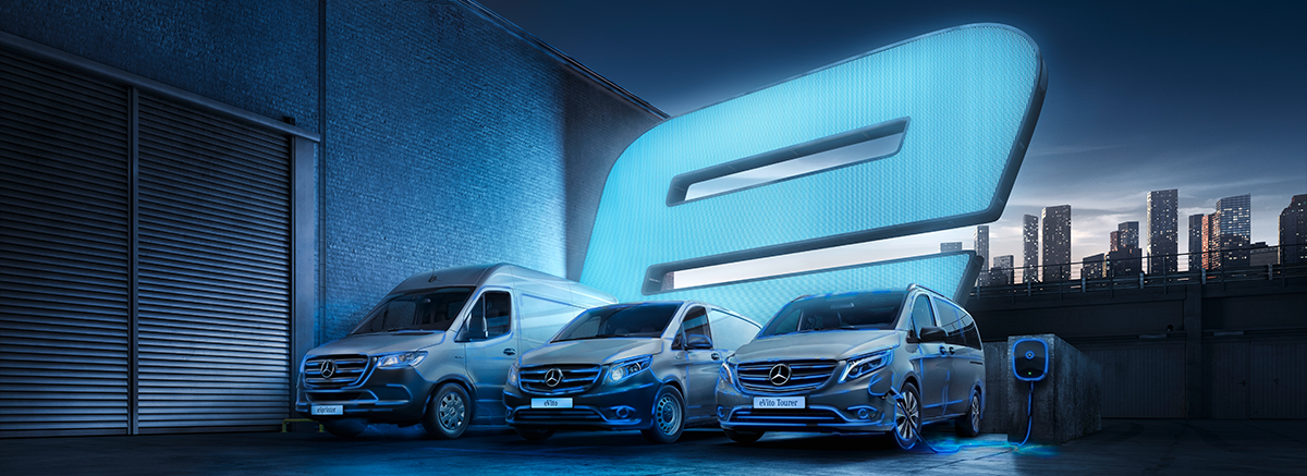 eVito and eSprinter Vans at Mertrux Mercedes-Benz