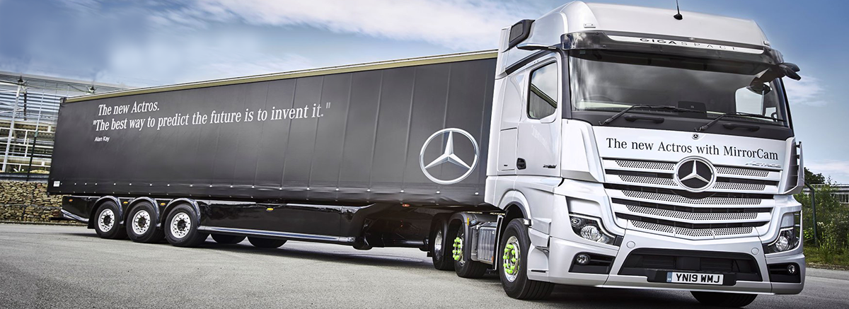 New Actros With MirrorCam at Mertrux Mercedes-Benz